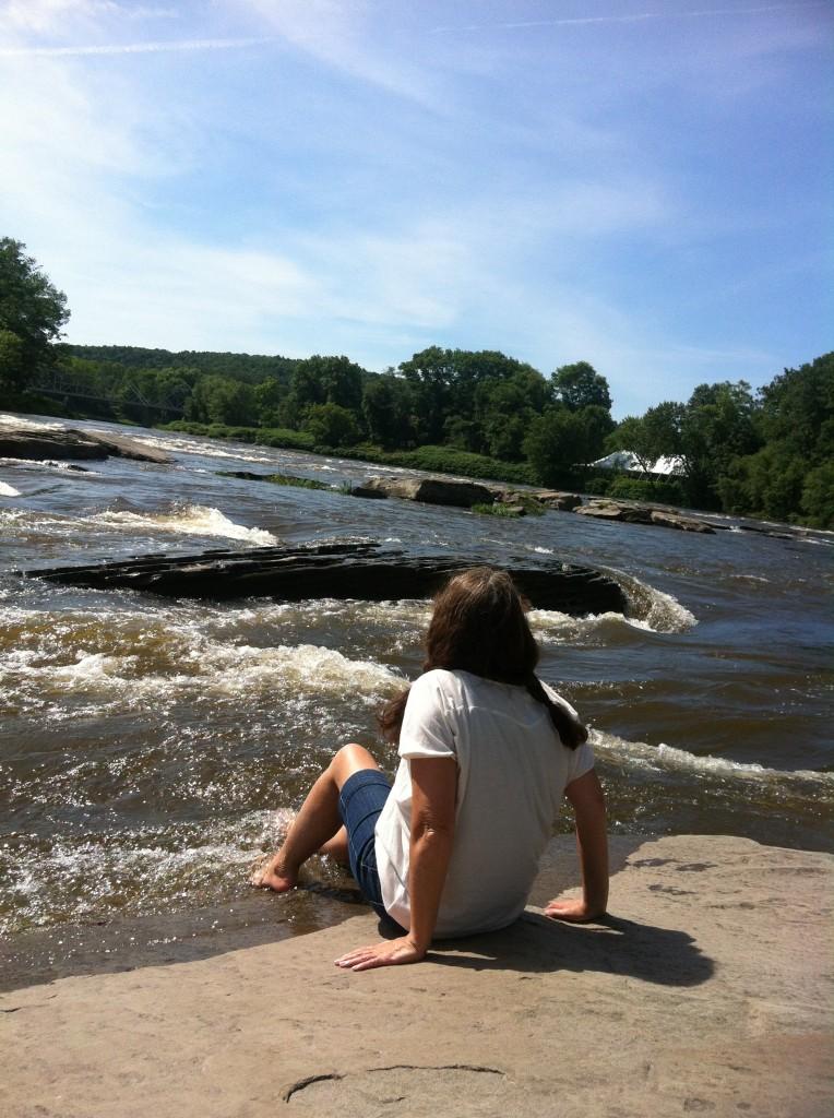 The Delaware River in Pennsylvania